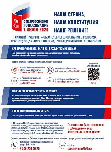 Голосование за изменения в Конституцию РФ в Тверской области пройдёт без электронного формата