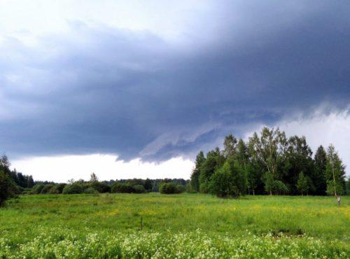 Синоптики предупреждают о сильном ливне