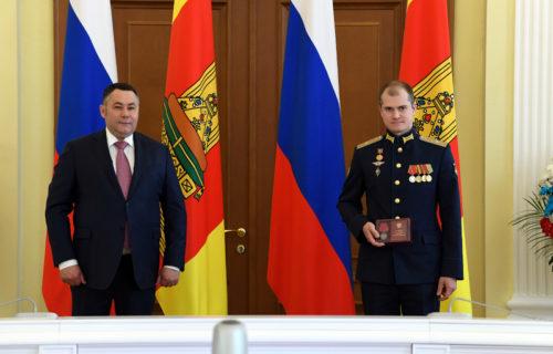 Игорь Руденя накануне Дня России вручил государственные награды жителям Тверской области