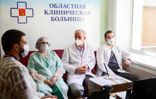 Игорь Руденя в преддверии Дня медицинского работника поблагодарил врачей Тверской области за их труд
