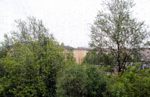 Во вторник возможен сильный дождь