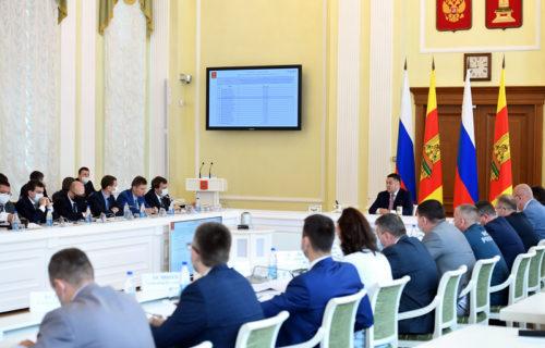 Игорь Руденя: в Тверской области увеличат темпы газификации