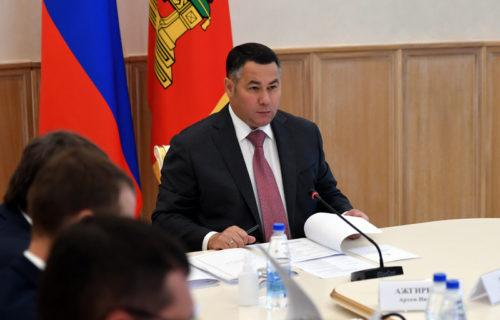 Игорь Руденя поручил актуализировать региональные национальные проекты в соответствии с поручениями Президента России Владимира Путина