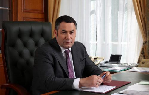 Игорь Руденя вновь занял 3-е место в медиарейтинге губернаторов ЦФО за июнь
