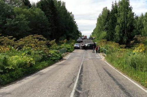 В аварии погибла молодая женщина