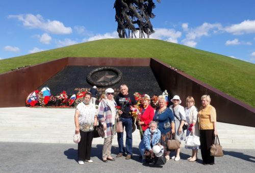 На мемориале Советскому солдату