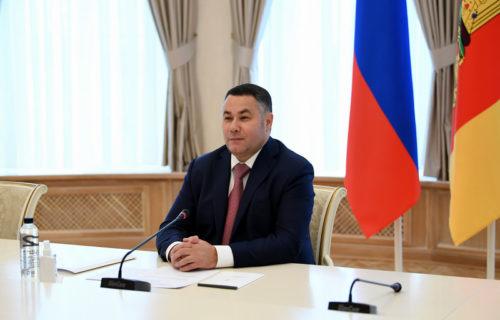 Игорь Руденя провёл встречу с митрополитом Тверским и Кашинским Амвросием
