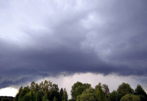 Синоптики предупреждают о дождях, ливнях и грозах