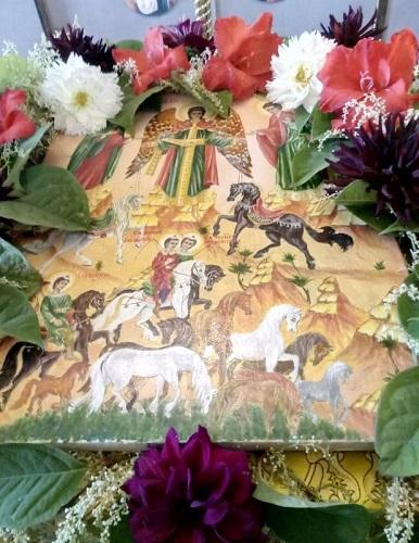 Престольный праздник в Степурине