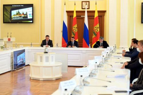 На заседании рабочей группы Госсовета Тверская область представила проект реализованной транспортной модели пассажирских перевозок