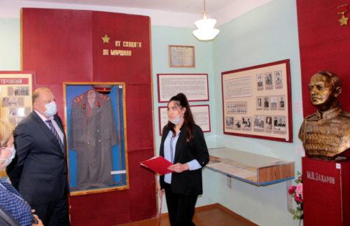 Председатель Законодательного Собрания Тверской области Сергей Голубев посетил Старицкий район