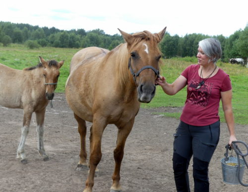 Любить животных - для души полезно!