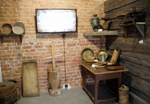 Восьмиклассники Старицкой средней школы получили урок истории в Музее пекарского дела