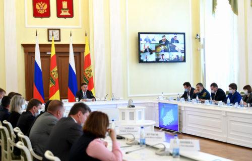 Игорь Руденя провёл селекторное совещание с главами районов по подготовке к отопительному сезону