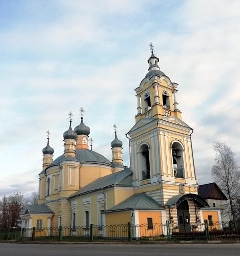 Ильинский храм ноябрь 20