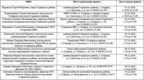 «ЕДИНАЯ РОССИЯ» проведёт приём граждан