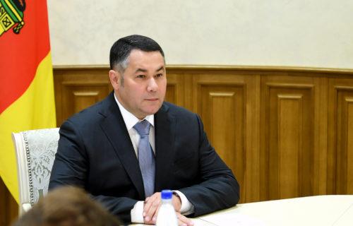 Игорь Руденя вошёл в рейтинг «Губернаторская повестка» с темой создания единой службы скорой помощи в Тверской области