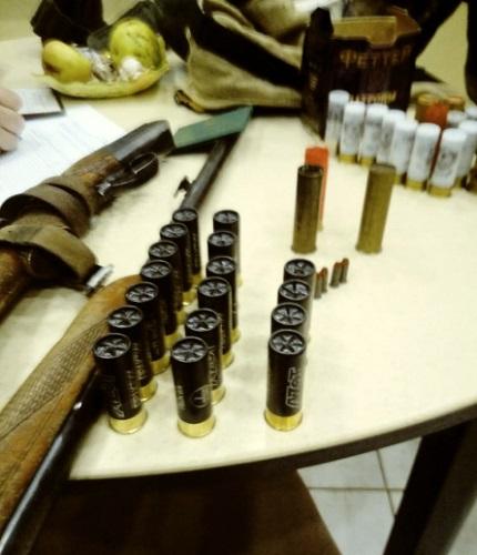 В Старицком районе полицейские установили подозреваемого в незаконной охоте