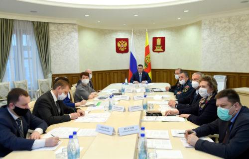 Игорь Руденя обозначил перед главами муниципалитетов ключевые задачи по обеспечению безопасности на территориях в праздничные дни