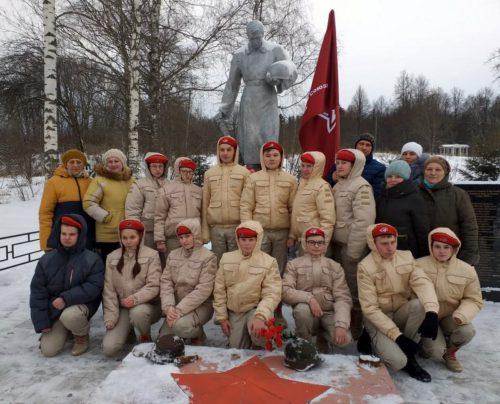 Юнармейцы отряда «Победа» приняли в свои ряды пополнение
