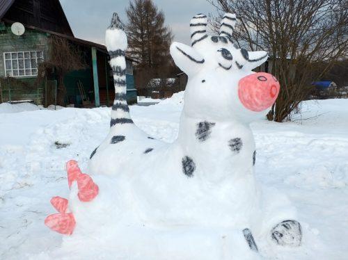 Мурка - Снежная корова - будь красива и здорова!