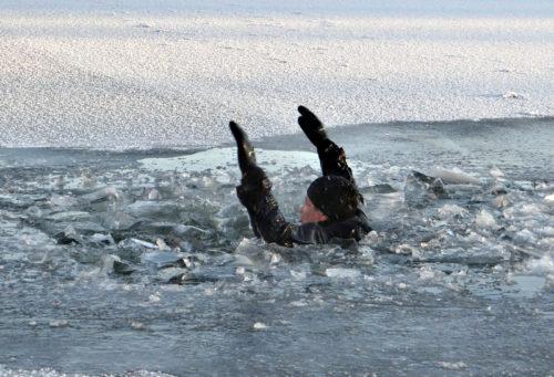 Внимание! Тонкий лёд!