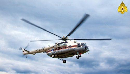 Санитарный вылет вертолёта Ми-8 в ЦРБ Старицкого района