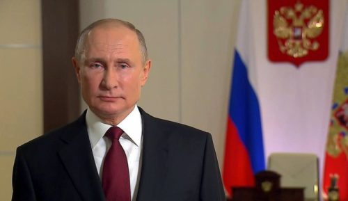 Президент России Владимир Путин поздравил жителей Тверской области с Днём защитника Отечества