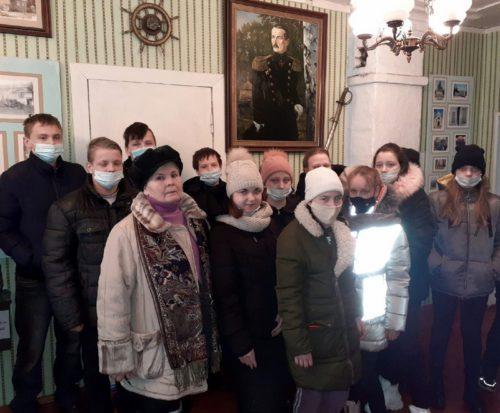 В музее рода Корниловых