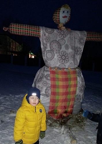 Зиму в Степурине проводили гуляньями