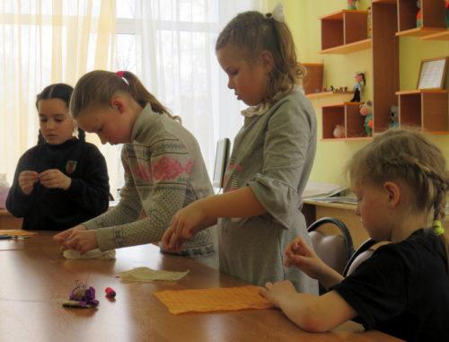 В Центре дополнительного образования праздник встречали конкурсной программой