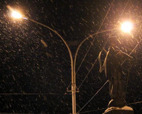 Синоптики предупреждают о сильном снеге и ветре