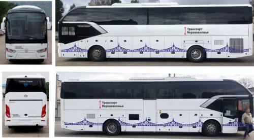 Жители Тверской области выбрали оформление междугородных автобусов «Транспорта Верхневолжья»