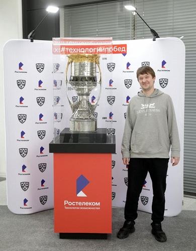 «Ростелеком» организует тур главного трофея Чемпионата КХЛ по городам Центрального федерального округа