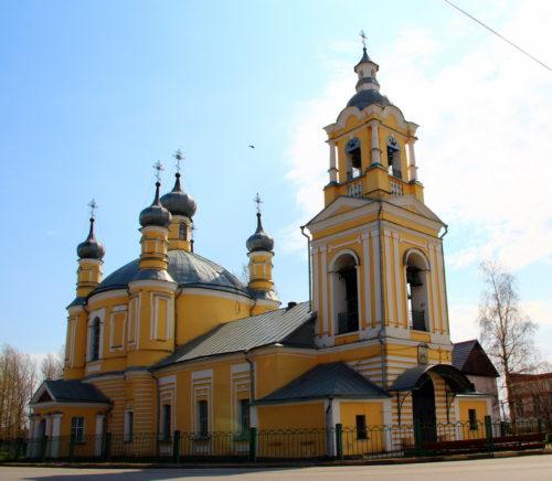 Ильинский храм май 2021