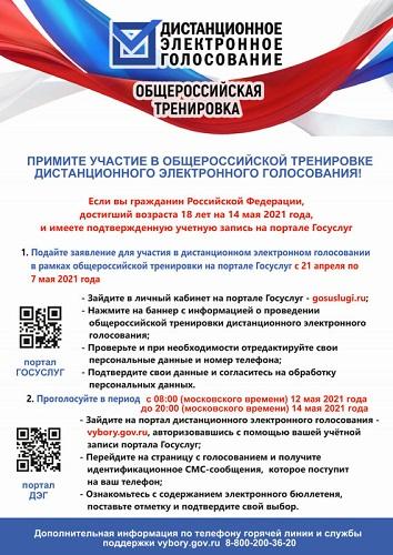 Жителей Тверской области приглашают принять участие в тестировании системы дистанционного электронного голосования