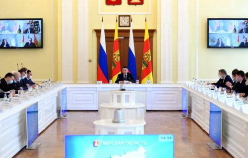 Игорь Руденя провёл селекторное совещание с главами муниципалитетов об обеспечении безопасности в период праздников
