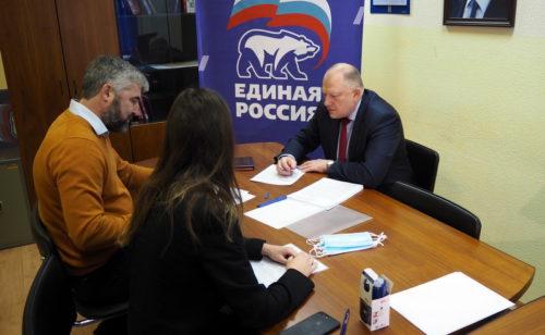 Сергей Голубев подал заявку на участие в предварительном голосовании