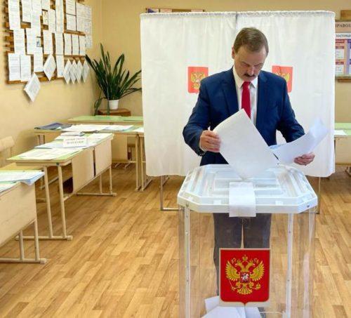 Депутат Госдумы Сергей Веремеенко принял участие в предварительном голосовании «Единой России»