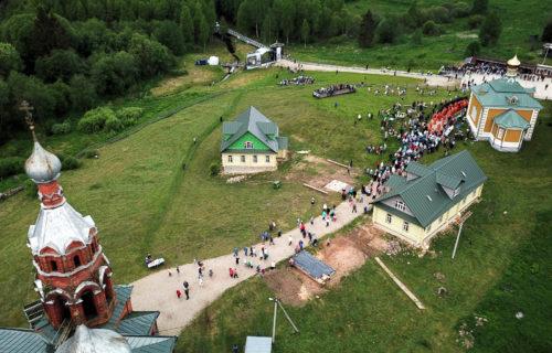 От истока реки Волги в Тверской области начался XXII Волжский Крестный ход