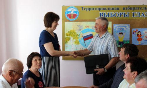 ТИК Старицкого района провела первое заседание в новом составе