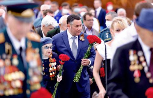 Губернатор Игорь Руденя поздравил жителей Тверской области с Днём Победы