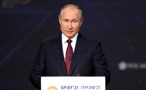 Игорь Руденя принял участие в пленарном заседании Петербургского международного экономического форума