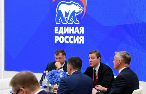 ПМЭФ-2021: Губернатор Игорь Руденя принял участие в стратегической сессии партии «Единая Россия» по инфраструктурным проектам