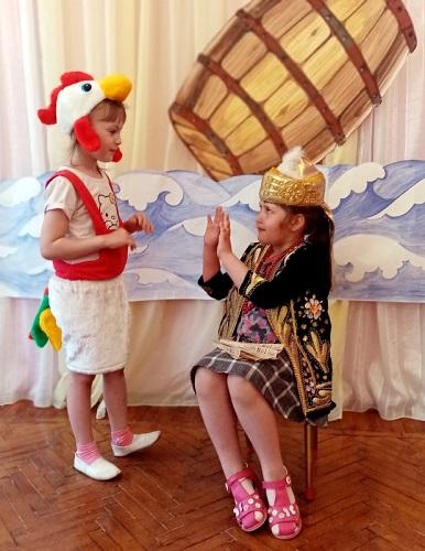 Дошколята погрузились в чудесный мир пушкинских сказок