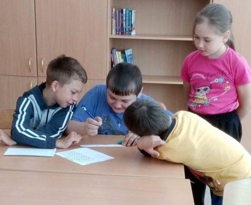 Степуринские ребята отправились в путешествие по сказкам Пушкина