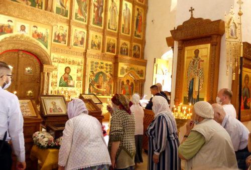 В Старицу прибыл ковчег с мощами святого благоверного князя Александра Невского