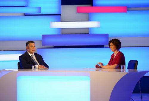 Губернатор Игорь Руденя ответит на вопросы жителей региона в прямом эфире