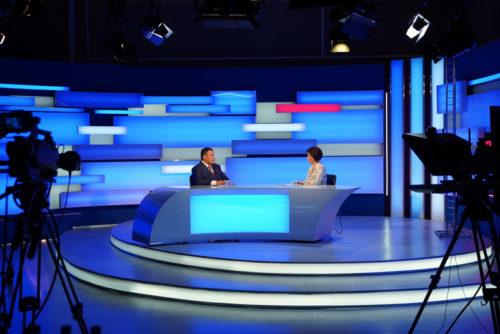 Игорь Руденя ответил на актуальные вопросы жителей Верхневолжья в прямом эфире телеканала «Россия 24» Тверь