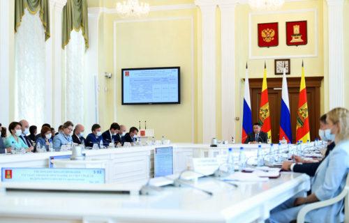 На заседании Правительства Тверской области рассмотрена реализация в регионе национального проекта «Здравоохранение»